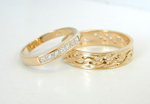 Image result for wedding ring gold
